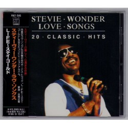 Wonder, Stevie - CD - JAP -  Love Songs - 20 Classic Hits