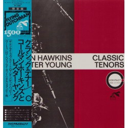 Coleman Hawkins And Lester Young - LP - JAP - Classic Tenors