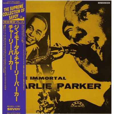 Parker, Charlie - LP - JAP - The Immortal