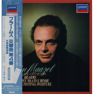 Brahms - LP - JAP - Symphony No4 in E Minor Op.98