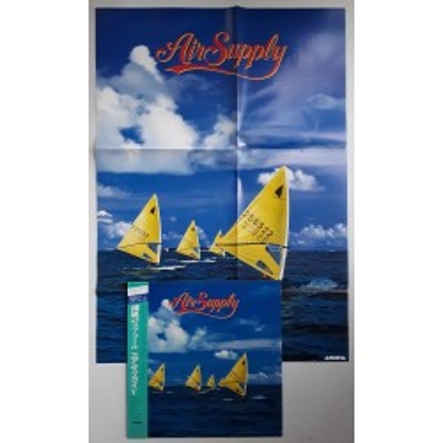 Air Supply  - LP - JAP - Air Supply + Poster