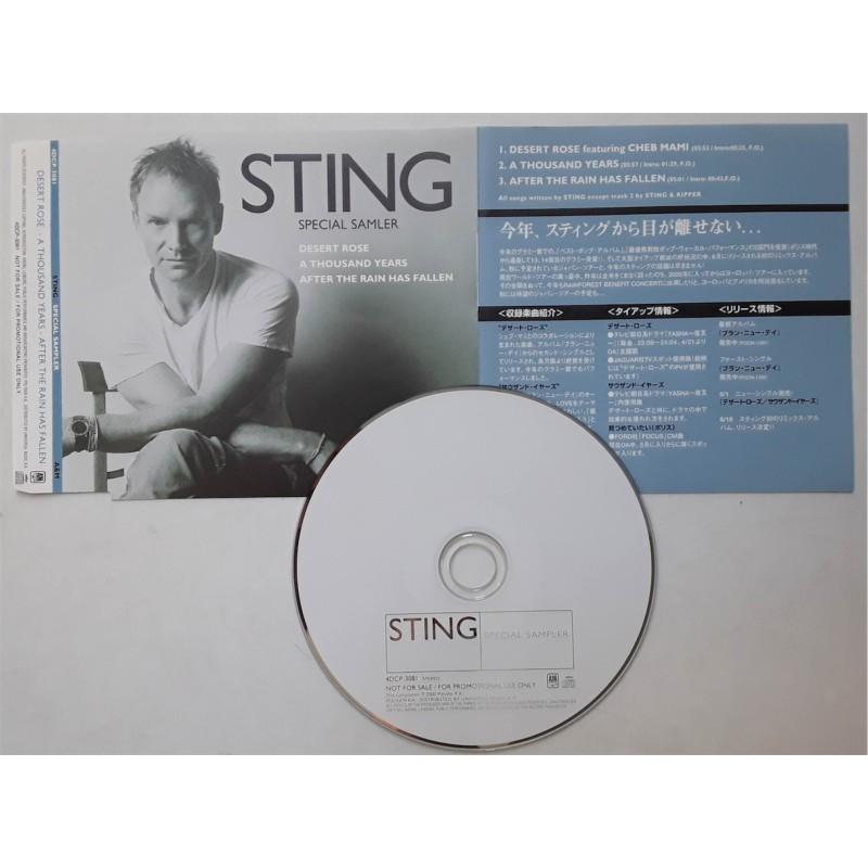 Sting - CD - JAP - Special Samler - PROMO