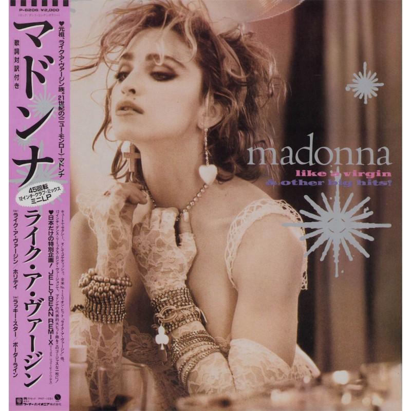 """Madonna - 12"""" - JAP - Like A Virgin"""