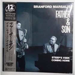 "Branford Marsalis - 12""- JAP - Fathers & Son - SEALED"
