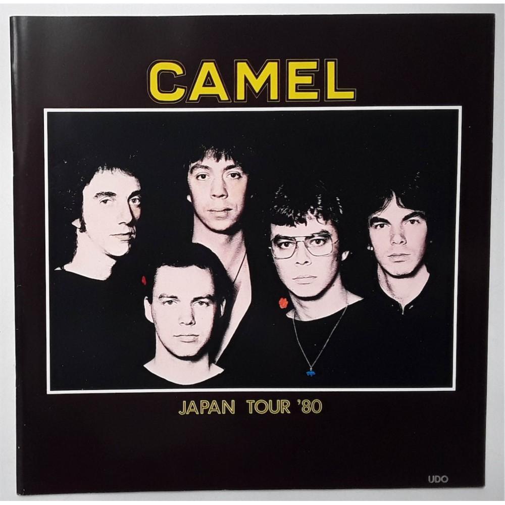 Camel - Tourbooks - JAP - 1980 Japan Tour