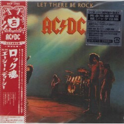 AC/DC - CD - JAP - Let There Be Rock - PROMO - SEALED