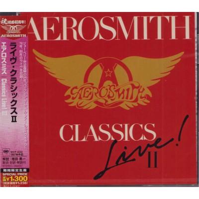 Aerosmith - CD - JAP - Classics Live II - PROMO - SEALED