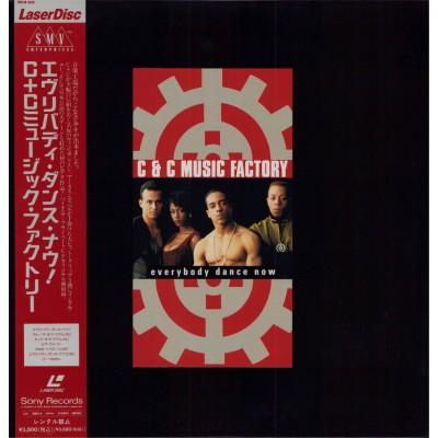 C & C Music FActory - Laserdisc - JAP - Every Body Dance