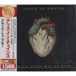 Alice In Chains - CD - JAP - Black Gives Way To Blue - PROMO - SEALED