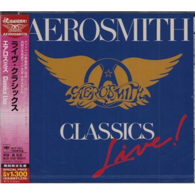 Aerosmith - CD - JAP - Classic Live!