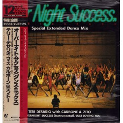"""Teri Demario with Carbon & Dito - 12"""" - JAP - Over Night Success - SEALED"""