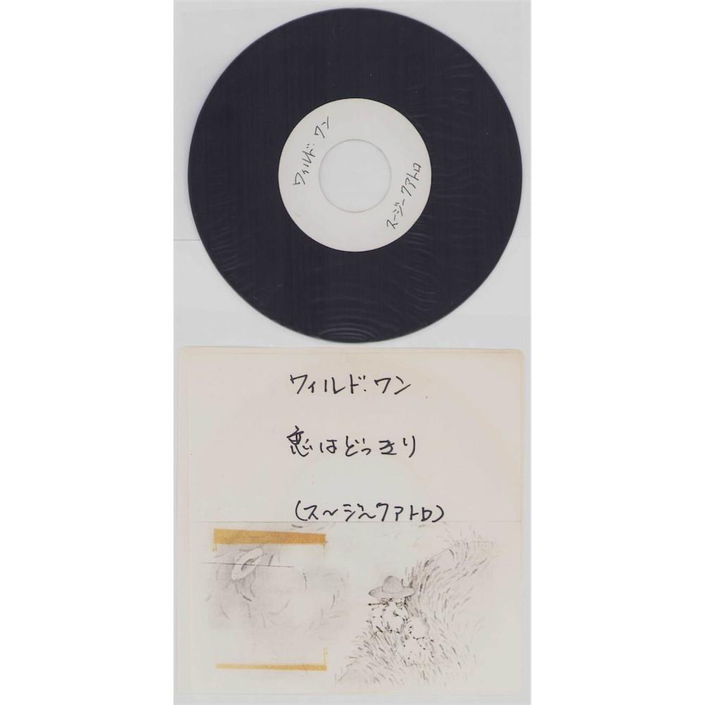 """Quatro, Suzi - 7"""" JAP - ACETATE -  Tear Me A part / The Wild One"""