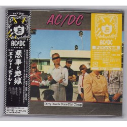 AC/DC - CD - JAP - Dirty Deeds Done Dirt - PROMO - SEALED