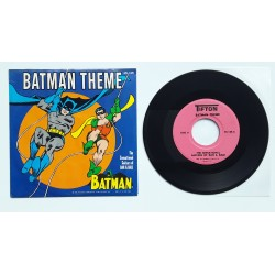 """Batman - 7"""" - US - Batman The Me"""