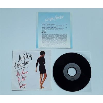 "Houston, Whitney - 7"" - GER - My Name Is Not Susan + PROMO Sheet"