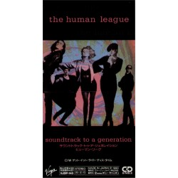"""Human League, The - 3"""" CD - JAP - Soundtrack To A Generation - SEALED - PROMO"""