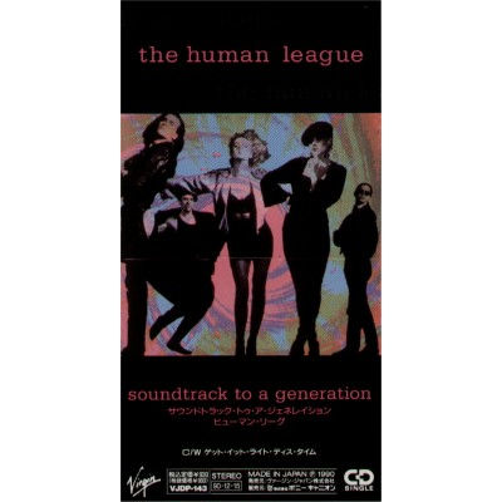 "Human League, The - 3"" CD - JAP - Soundtrack To A Generation - PROMO"