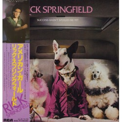 Springfield, Rick - LP - JAP - Success Hasn't Speilt Me Yet