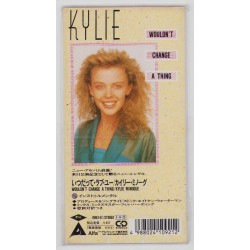 """Minogue, Kylie - 3"""" CD - JAP - Wouldn't Change A Thing + 2 Sticker"""