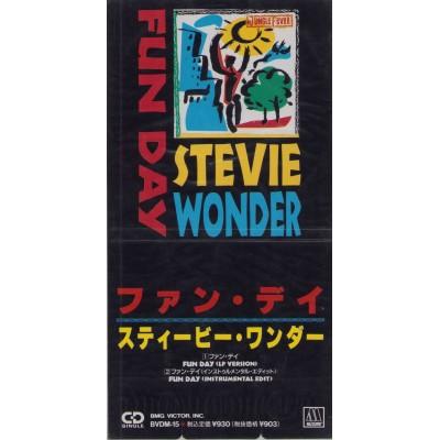 "Wonder, Stevie - 3"" CD - JAP - Fun Day - PROMO - SEALED"