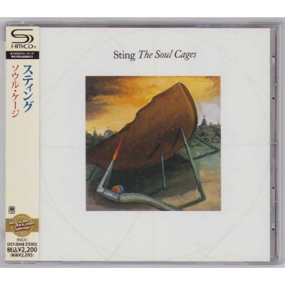 Sting - Police - CD - JAP - The Soul Cages - PROMO