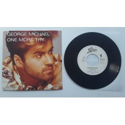 """Michael, George - 7"""" - GER - One More Try + PROMO"""
