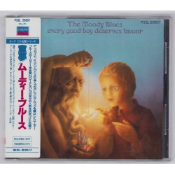 Moody Blues, The - CD - JAP - Every Good Boy Deseves Favour