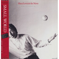 Huey Lewis und The News - LP - JAP - Small World - Poster
