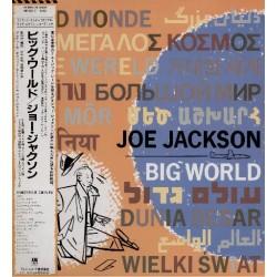 Jackson, Joe - 2 LP - JAP - Big World - PROMO + Promo Sheet