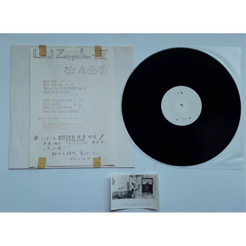 Led Zeppelin - LP - JAP - IV - Sound Obi
