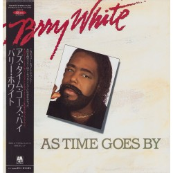 """White, Barry - 12"""" JAP - As Time Goes By - White Vinyl"""