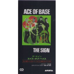 """Ace Of Base - 3"""" CD - JAP - The Sign"""