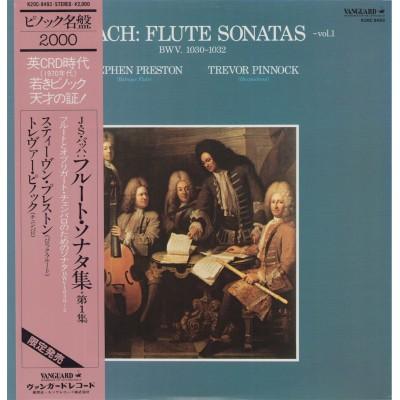 Bach - LP - JAP - Flute Sonatas - Vol.1