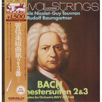 Bach - LP - JAP - Orchestersuiten 2 & 3