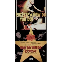 """Roxette - 3"""" CD - JAP - How Do You Do! - SEALED - PROMO"""