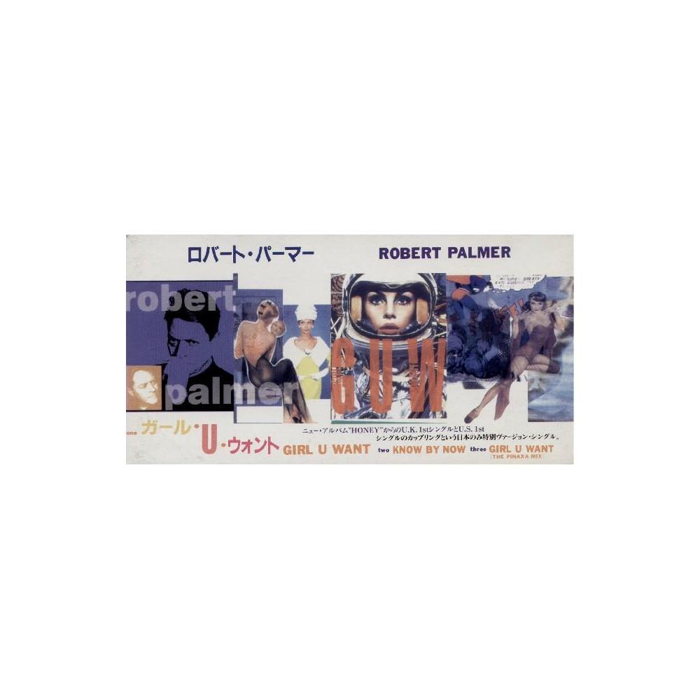 "Palmer, Robert - 3"" CD - JAP - Girl U Want - SEALED - PROMO"