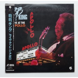B.B. King - Laserdisc - JAP - Live At The Polo - SEALED