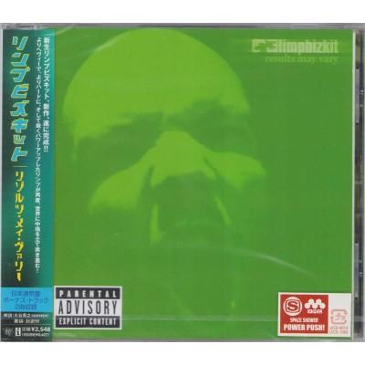 Limp Bizkit - CD - JAP - Results May vary