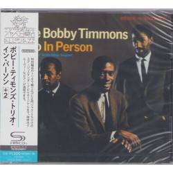 The Bobby Timmons Trio - CD - JAP - In Person - SEALED