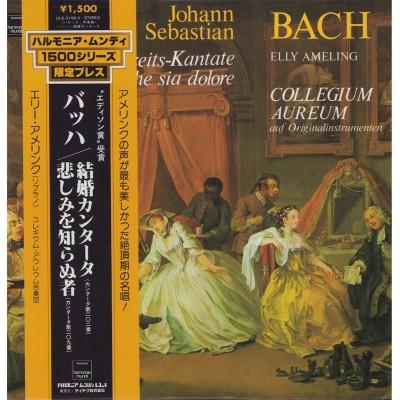 Bach - LP - JAP - Weltliche Kantaten