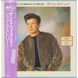 """Astley, Rick - 12"""" - JAP - She wants to dance with me"""