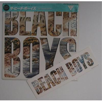 Beach Boys - LP - JAP - The Beach Boys + Sticker