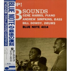 Three Sounds, The - LP - JAP - Bootoms Up! - BLUE NOTE