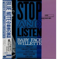 Willette, Baby Face - LP - JAP - Stop And Listen - BLUE NOTE