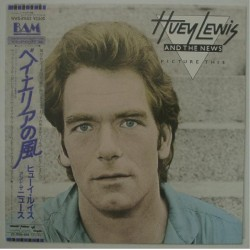 Huey Lewis And The News - LP - JAP - Pictures this