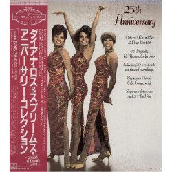 Ross, Diana And The Supremes - 3 LP - JAP - 25th Anniversary