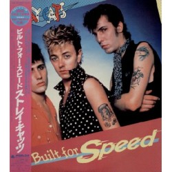 Stray Cats - LP - JAP - Built For Speed