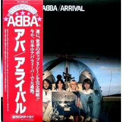 Abba - LP - JAP - Arrival - Red Obi