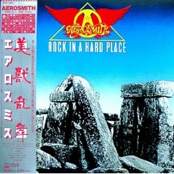 Aerosmith - LP - JAP - Rock In A Hard Place