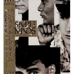 Simple Minds - LP - JAP - Once Upon A Time